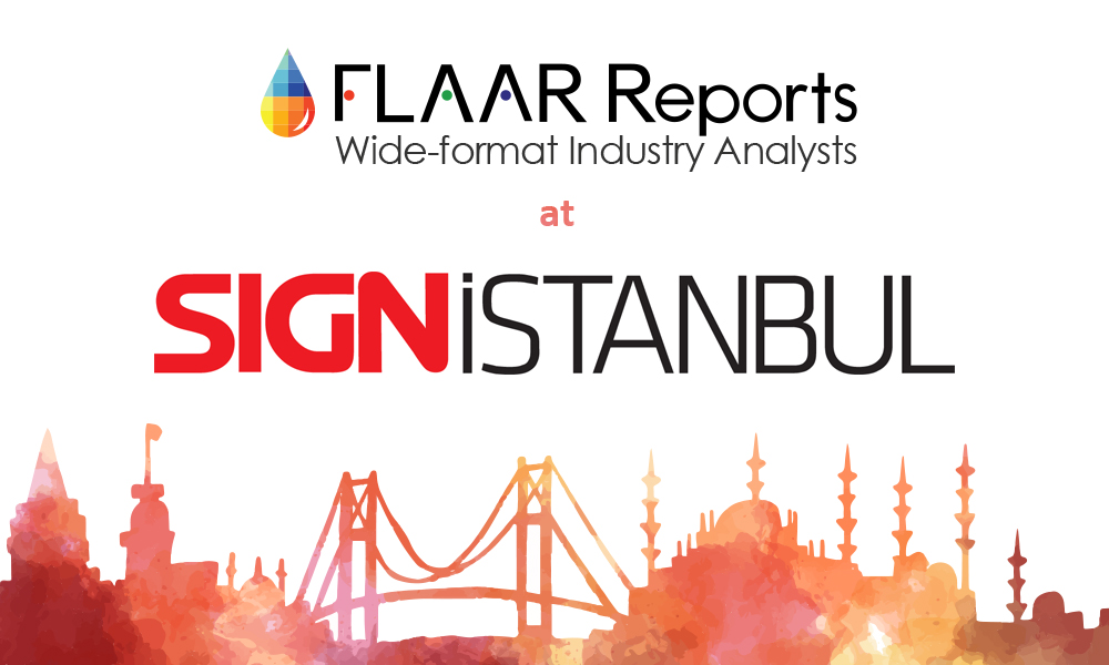 3D Printers at Sign Istanbul 2016 first days of October