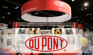 DuPont Artistri inkjet ink is designed for the textile printing market and is formulated with the same dyes and pigments used in conventional textile printing.