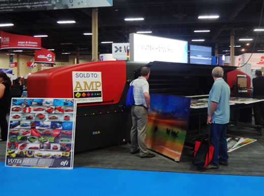 EFI-Vutex-HS100-Pro-FLAAR-uv-printer-trade-show-ISA-2013