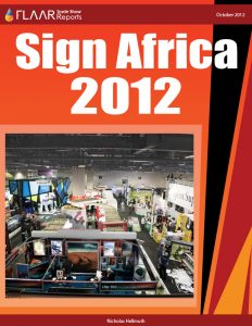 Sign Africa 2012, Signage expo