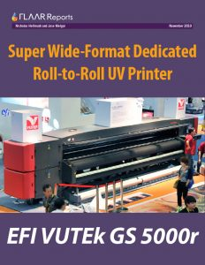EFI VUTEk GS5000r 5 meter UV inkjet printer evaluation report