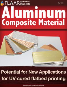 Aluminum Composite Material Potential for new applications for UV-cured flatbed printing