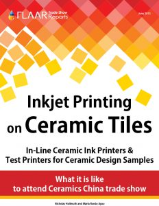 Inkjet printing on ceramic tiles Ceramic China trade show