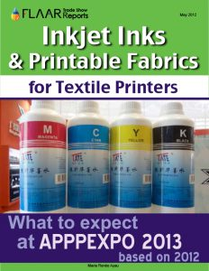 Injekt inks & Printable Fabrics What to expect at APPPEXPO 2013 based on 2012