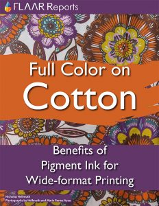 Full Color on Cotton, Benefits of Pigment ink
