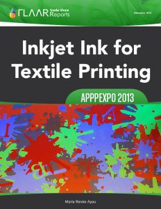 APPPEXPO 2013 Shanghai FLAAR Reports Textile Inks