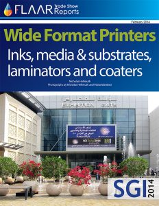 SGI Sign Graphic Imaging Dubai Middle East 2014 uv cured printers textile inks media flatbed cutters prepare for exhibitor list 2015