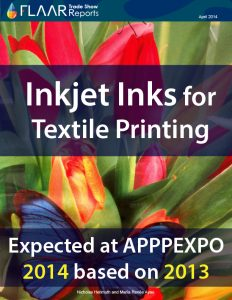 APPPEXPO 2014-2013 Shanghai FLAAR Reports textile inkjet inks