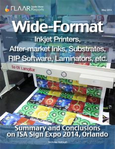 ISA 2014 FLAAR Reports printers inks photographic introduction