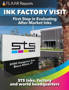 STS inks factory visit evaluating after market inks 2014