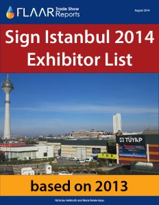 Sign Istanbul 2014 trade show preview based on 2013
