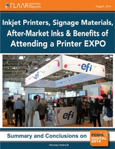 FESPA 2014 Subscription Inkjet Printers Signage Materials After-Market Inks CNC FLAAR Reports