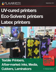FESPA MEXICO 2014 UV cured printers eco solvent printers Latex printers