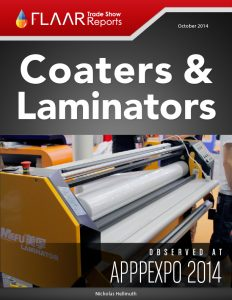 APPPEXPO 2014 Shanghai coaters laminators list FLAAR Reports