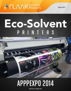 APPPEXPO 2014 Shanghai eco-solvent printers list FLAAR Reports