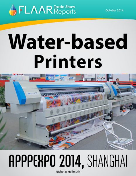 APPPEXPO 2014 Shanghai waterbased printers list FLAAR Reports