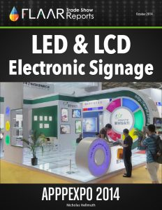 APPPEXPO 2014 Shanghai LED LCD electronic signage list FLAAR Reports