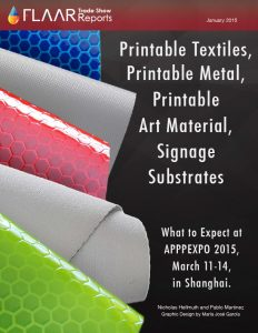 APPPEXPO 2015 exhibitor list signage substrates media rigid roll to roll