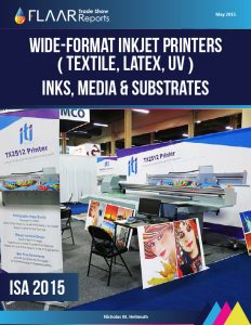 ISA 2015 wide format printers inkjet inks media substrates CNC