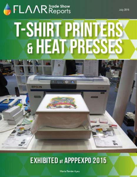 APPPEXPO 2015 T-Shirt Printers and Heat Presses