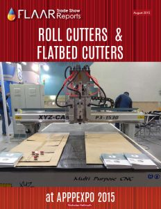 APPPEXPO 2015 CNC Cutters and Flatbed cutters