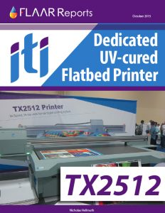 ITI TX2512 flatbed UV printer evaluation