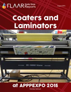 APPPEXPO 2015 Coaters & Laminators