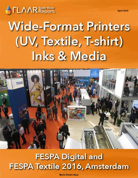 FESPA 2016 Wide-format printers inks and media