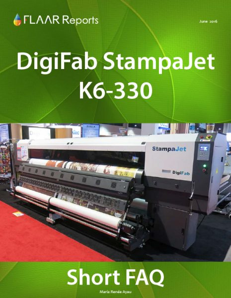 DigiFab StampaJet K6-3300 FAQ evaluation chart