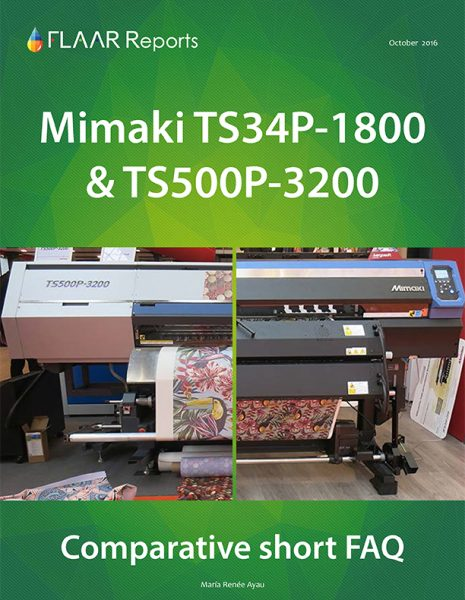 Mimaki TS300P-1800 and TS500P-3200 comparative FAQ
