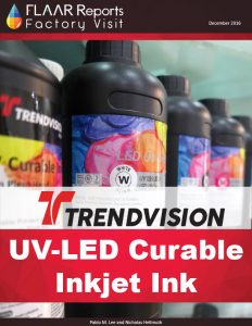 TRENDVISION UV-LED cured inkjet ink