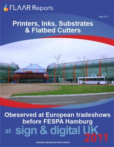 Sign & digital UK 2011 UV cured, solvent, distributors inkjet printers exhibitor list 2012