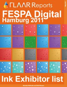 Inks Exhibitor list FESPA 2011