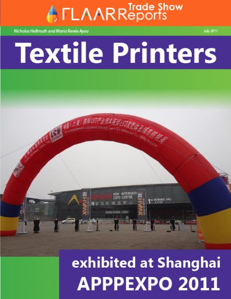 APPPPEXPO Shanghai 2011 textile dye sublimation, heat press, calendering machines
