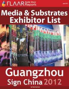 Sign China 2012 Media & Substrates