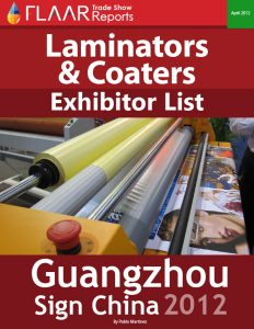 Sign China 2012 Laminators & Coaters
