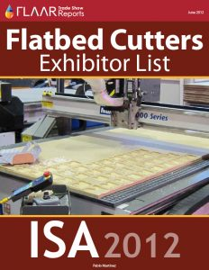 ISA 2012 Flatbed Cutters