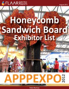 APPPEXPO 2012 Honeycomb Sandwich Board