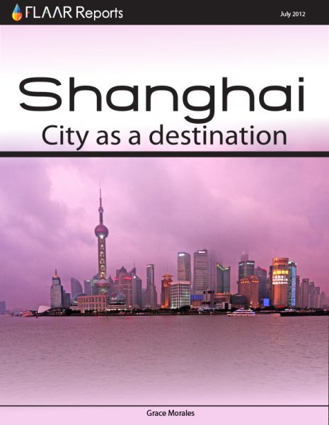 Shanghai City as a Destionation