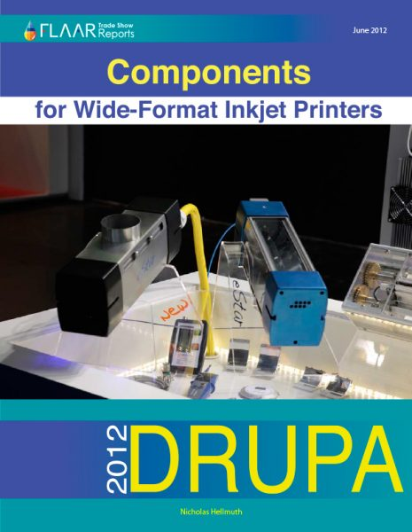 Drupa 2012 Components for Wide-format Inkjet Printers