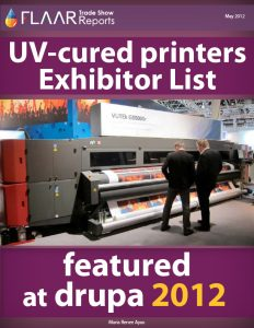 Drupa 2012 UV-cured printers