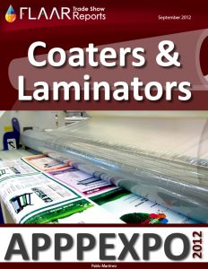 APPPEXPO 2012 Coaters & Laminators