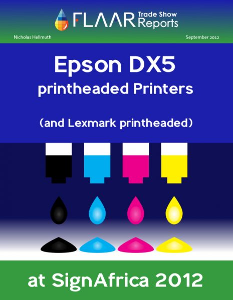 Sign Africa 2012 Printhead Printers