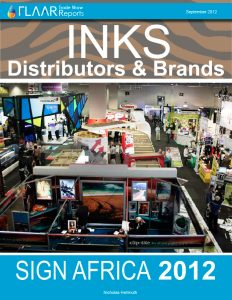 Sign Africa 2012 INKS Distributors & Brands