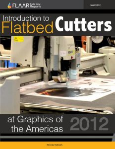 Graphics of the Americas 2012 Flatbed Cutters