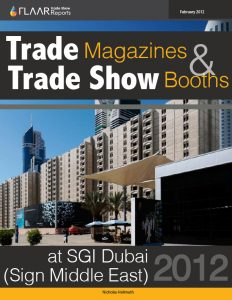 SGI Dubai 2012 Trade Magazines & Trade Showa Booths