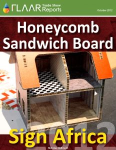 Sign Africa Honeycomb Sandwich Board