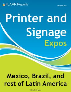 Printer and Signage expos 2013 Latin America
