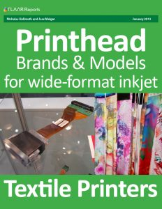 Printhead Brands ans Models for Wide-format Textile Printers