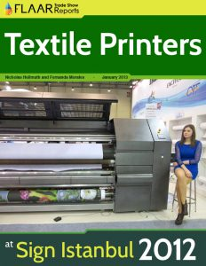 Textile Printers at Sign Istanbul 2012.